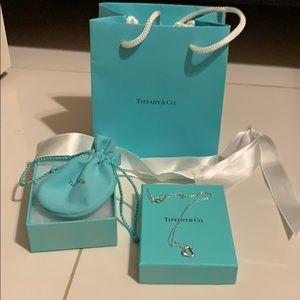 Tiffany Open Heart Necklace